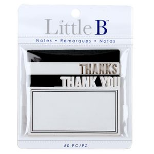 Little B Decorative Notes Thanks 2 Pack