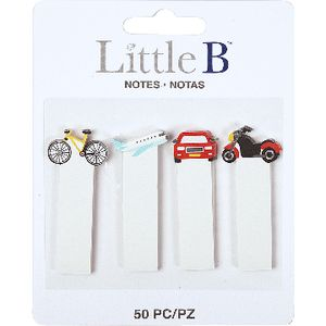 Little B Decorative Tabs Transport 4 Pack