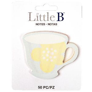 Little B Decorative Notes Tea Cup 5 Pack