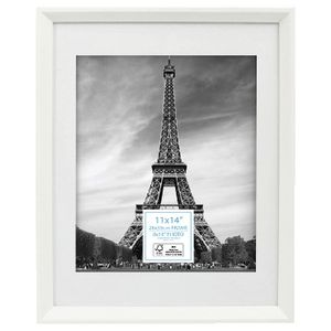 adventure frame 11 x 14 with 8 x 10 opening white officeworks