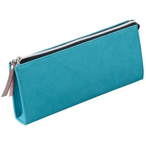 Raymay Fujii Single Zip Light Tube Pencil Case Medium Teal
