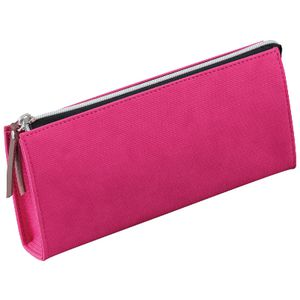 Raymay Fujii Single Zip Light Tube Pencil Case Medium Pink