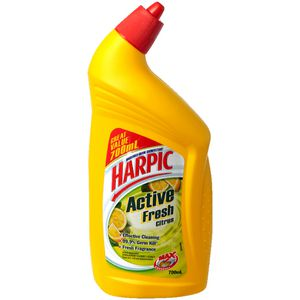 Harpic Active Fresh Toilet Cleaner Citrus 700mL