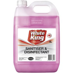 White King Sanitiser and Disinfectant 5L
