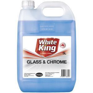 White King Glass and Chrome Cleaner 5L