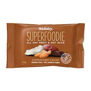 Wallaby Superfoodie Bar Cappuccino Cacao 48g