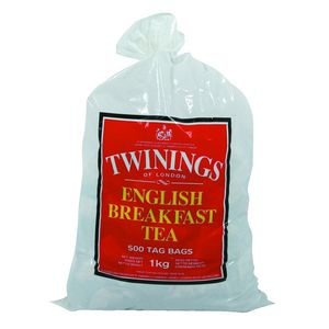 Twinings English Breakfast Tea Bags 500 Pack