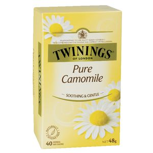 Twinings Pure Camomile Tea 40 Pack at Officeworks in Campbellfield, VIC | Tuggl