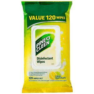 Pine O Cleen Surface Wipes 120 Pack