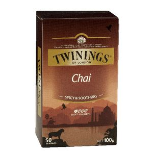 Twinings Chai Tea Bags 50 Pack | Officeworks