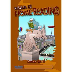 READ IT Home Reading Senior Level Diary Orange