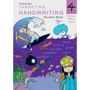 Vic Targeting Handwriting Student Book 4