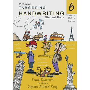 Vic Targeting Handwriting Student Book 6