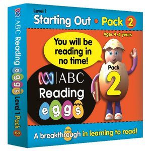 ABC Reading Eggs Starting Out Book Pack 2