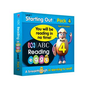 ABC Reading Eggs Starting Out Book Pack 4