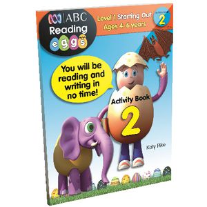 ABC Reading Eggs Starting Out Activity Book 2