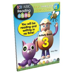 ABC Reading Eggs Starting Out Activity Book 3