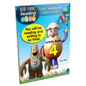 ABC Reading Eggs Starting Out Activity Book 4