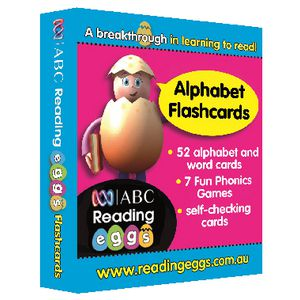 ABC Reading Eggs Alphabet Flash Cards