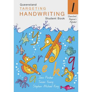 Queensland Targeting Handwriting Student Book 1