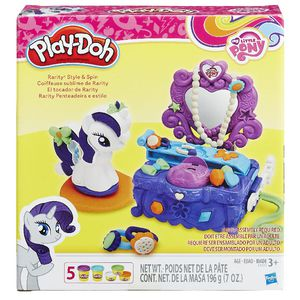 Play-doh Rarity Style and Spin Set