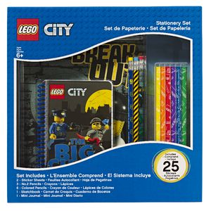 LEGO City Boxed Stationery Set