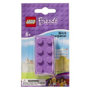LEGO Friends Brick Sharpener Assorted Colours
