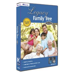 Legacy Family Tree Deluxe 1 PC Box
