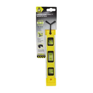 Gripwell Magnetic Torpedo Spirit Level 9""