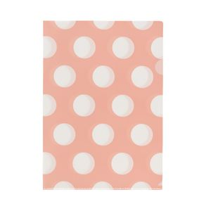 Letter File A4 Single Printed Vintage Pink