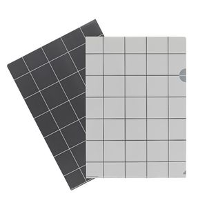 Letter File A4 Single Printed White Grid