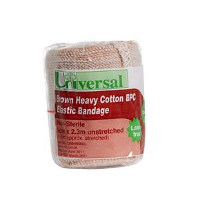 Universal Heavy Crepe Bandage Smooth Cotton 50mm x 4.5m