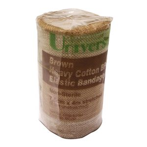 Universal Heavy Crepe Bandage Smooth Cotton 75mm x 4.5m