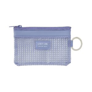 Lihit Lab Mesh Document Wallet A8 Blue