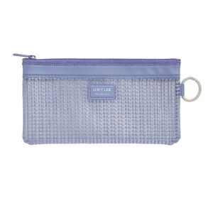 Lihit Lab Mesh Document Wallet Bank Blue