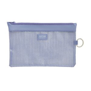Lihit Lab Mesh Document Wallet B6 Blue