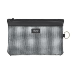 Lihit Lab Mesh Document Wallet B6 Black