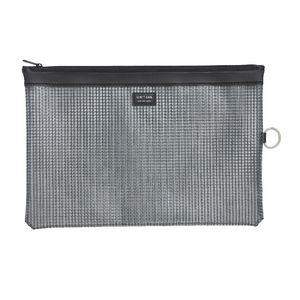Lihit Lab Mesh Document Wallet A4 Black