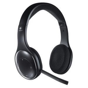 Logitech Wireless On Ear Headset Black H800