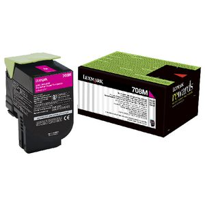 Lexmark 708C Return Toner Cartridge Magenta