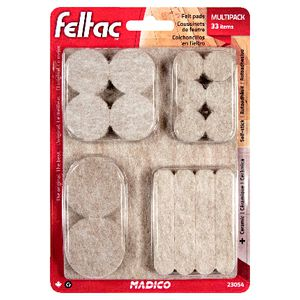FELTAC Self-Stick Felt Floor Savers 33 Pack