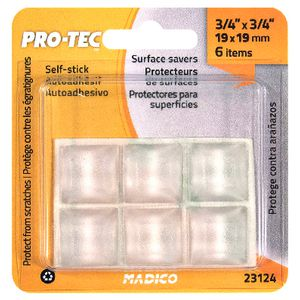 Madico 19mm Self-Stick Surface Savers Square