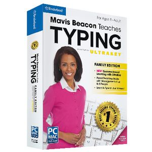 Broderbund Mavis Beacon Teaches Typing 3 PC/Mac Box
