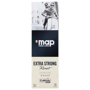 Map Extra Strong Roast Coffee Capsules 10 Pack | Tuggl
