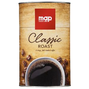 Map Classic Roast AGG Instant Coffee 1.1kg Tin