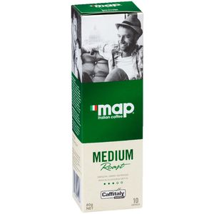 Map Medium Roast Coffee Capsules 10 Pack