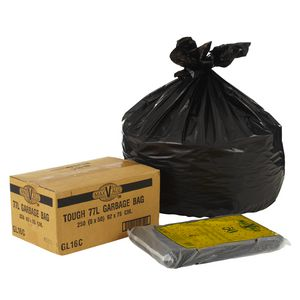MaxValu Garbage Bag 77L 250 Pack