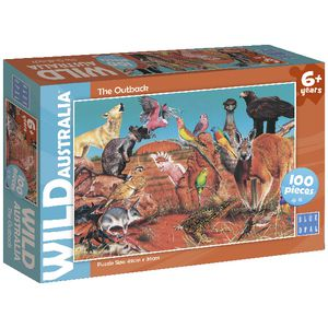 Blue Opal Wild Australia The Outback Puzzle 300 Piece