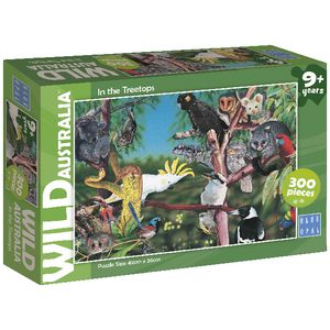 Blue Opal Wild Australia In the Treetops Puzzle 300 Piece