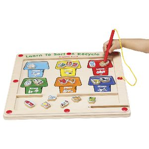 GoGo Toys Learn To Sort And Recycle Magnetic Game
